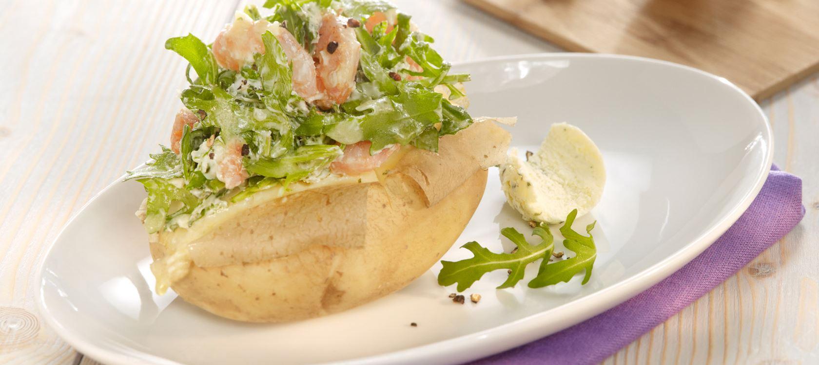 Pikante Ofenkartoffeln mit Arla Kærgården®