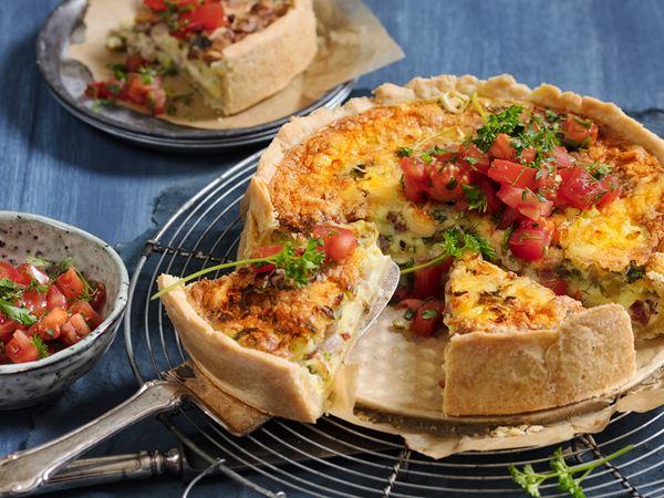 Bauernfrühstück aus dem Ofen mit Finello® Ofenkäse
