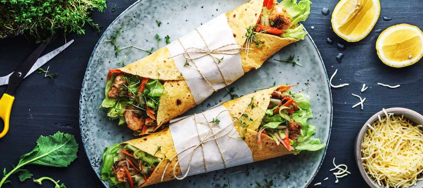 Asia Wraps mit Finello®