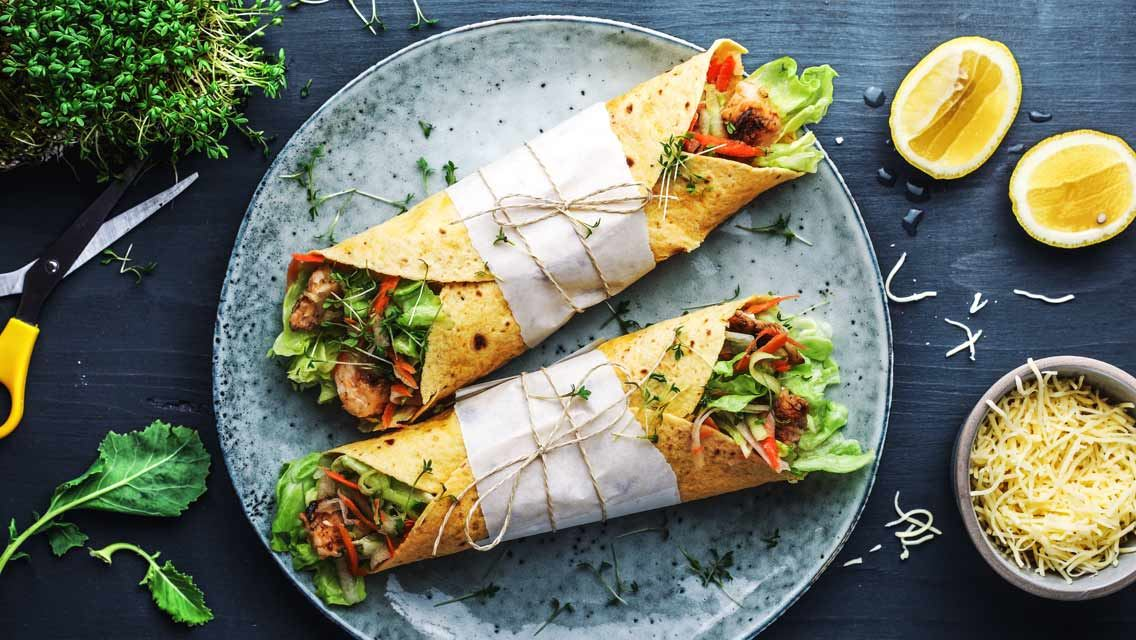 Asia Wraps mit Finello® Pastakäse