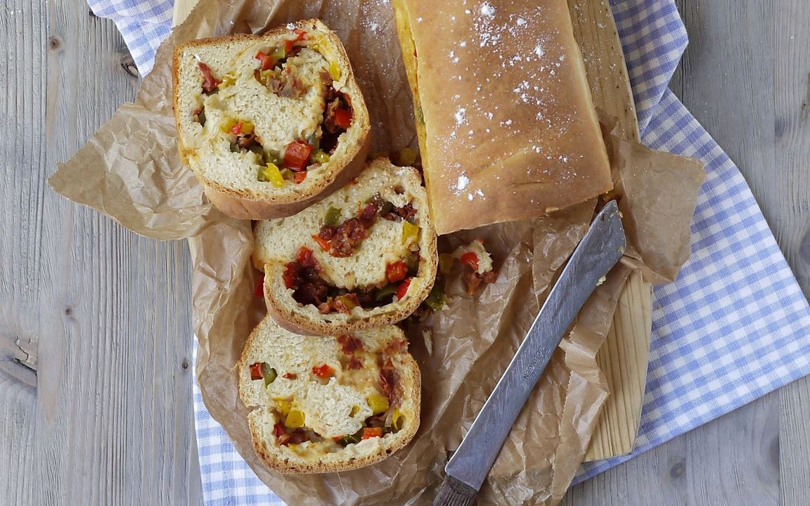 Arla® Skyr Gemüse-Brot