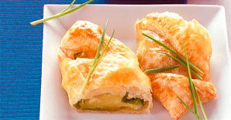 Kartoffel-Wirsing-Blätterteig-Törtchen