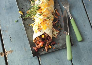Chili con Carne Tortillas mit Finello® Ofenkäse