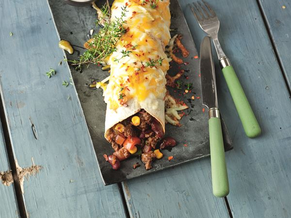 Chili con Carne Tortillas mit Finello® Ofenkäse