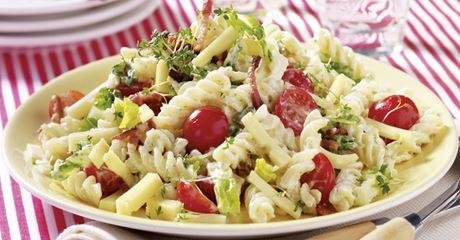 Schneller Nudel-Käse-Salat