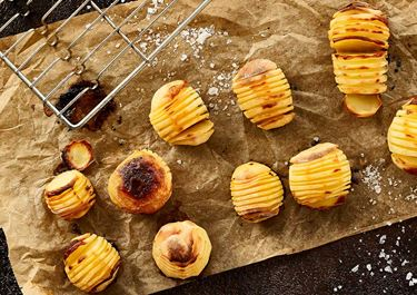 Hasselback-Kartoffeln