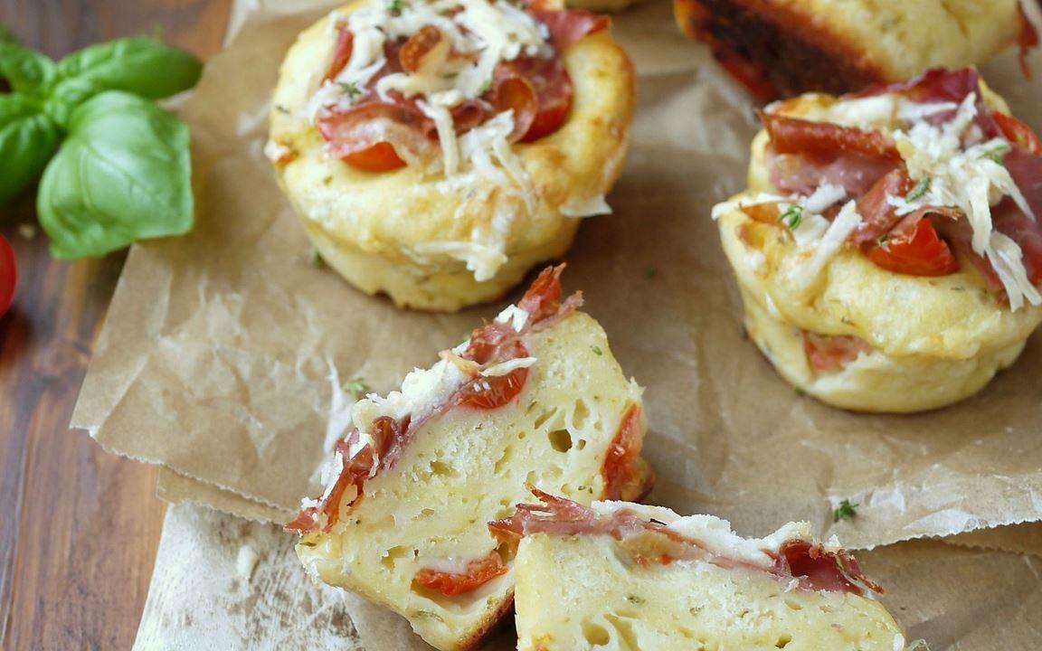 Tomaten-Muffins mit Arla® Skyr Natur