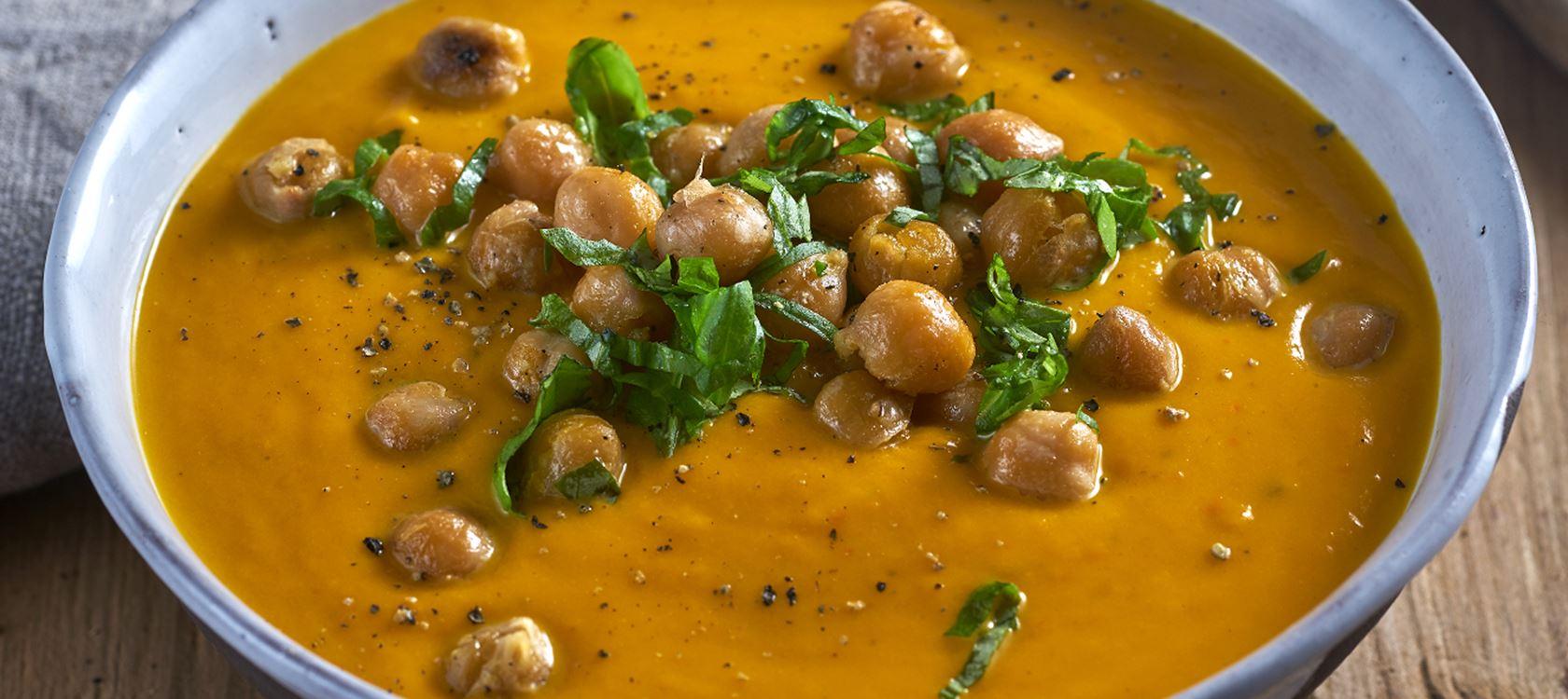 Kürbissuppe mit Arla Buko® Toskana