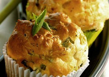 Oliven-Muffins mit Arla® BIO Weidemilch
