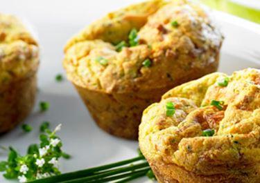 Schnittlauch-Käse-Muffins