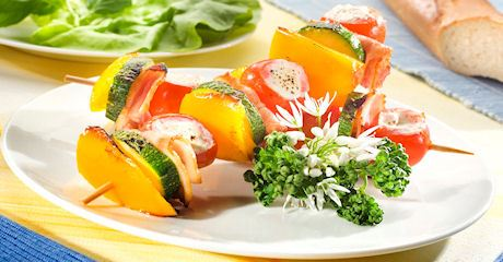 Grill-Tomaten-Spieße