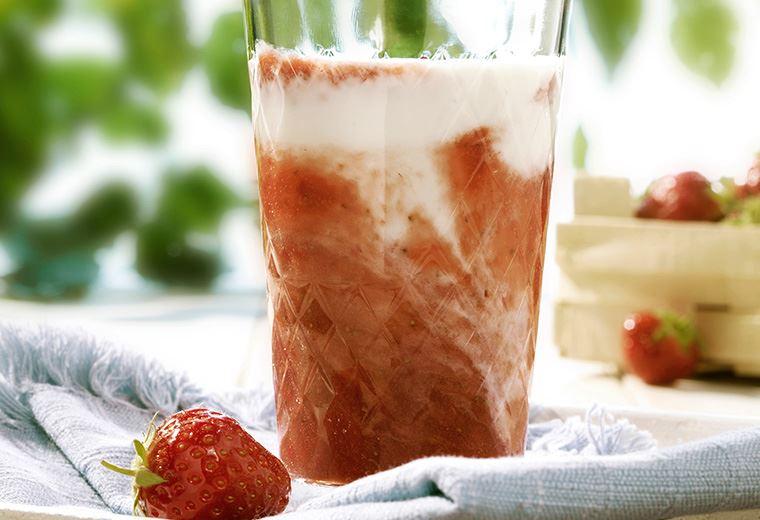 Arla® BIO Erdbeershake