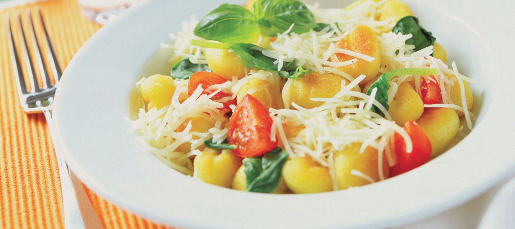 Spinat-Gnocchi mit Finello® Pastakäse