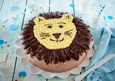 Löwen-Geburtstagskuchen