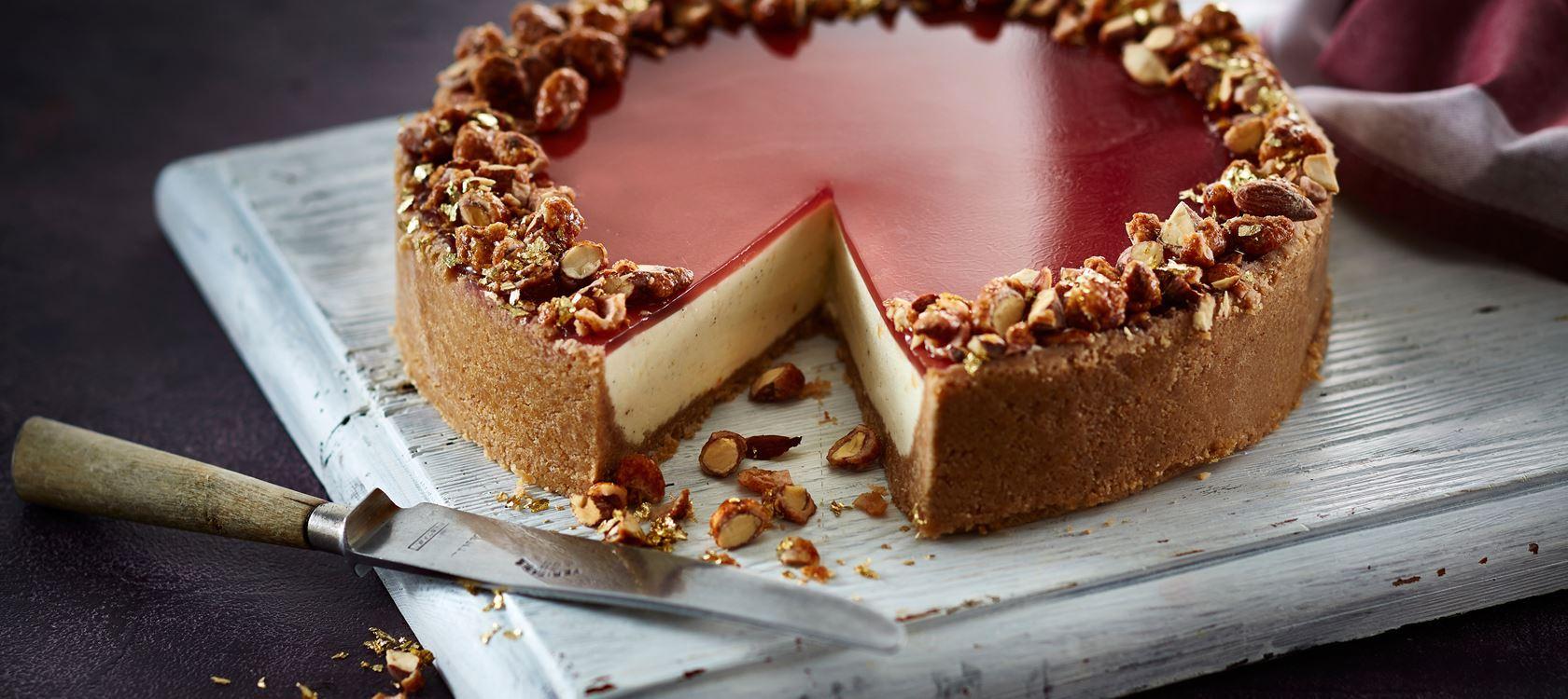 Weihnachtlicher Cheesecake