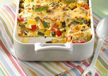Ratatouille-Kartoffel-Auflauf mit Arla Finello® Light