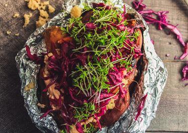 Kumpir –  Ofen(süß)kartoffel mit Arla Buko® Tapas