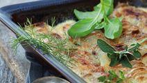 Lette flødekartofler med krydderurter