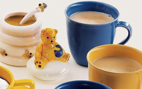 Te med mælk og honning