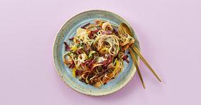 Spaghetti carbonara a la Cheasy