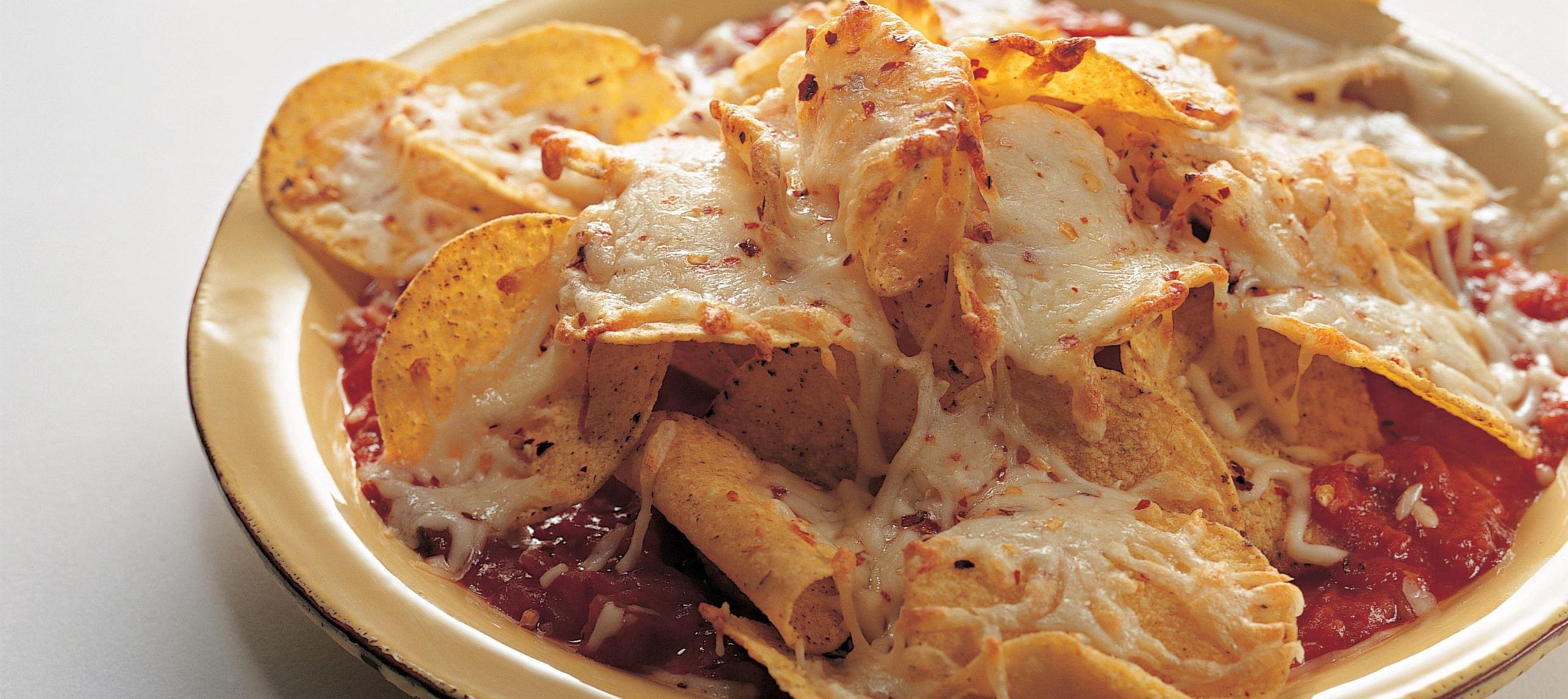 Nachos - majschips med ost