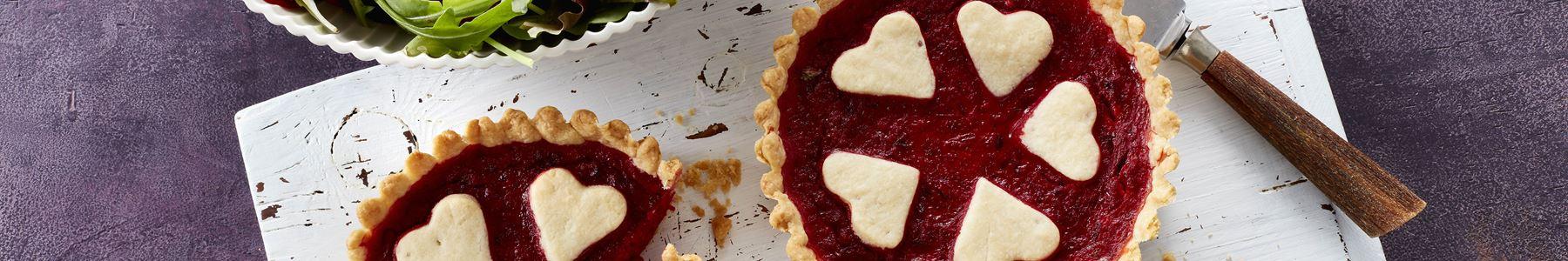 Valentinsdag + Tærter