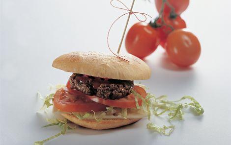 Nadjas Favorit - Burger med ost