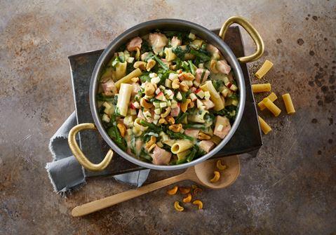 One pot med laks og spinat
