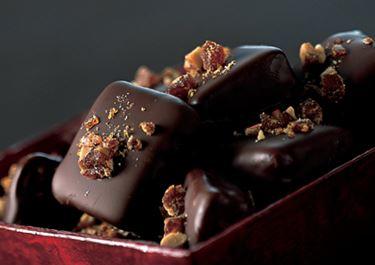 Chokoladetrøffel med knas