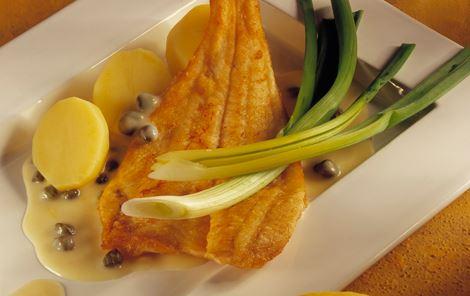 Citronsauce med kapers