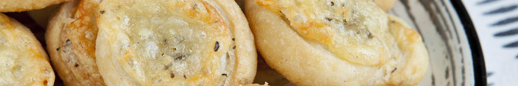 Snacks og tapas + Butterdej