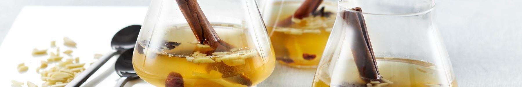 Citron + Varme drikke