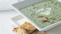 Suppe med brøndkarse