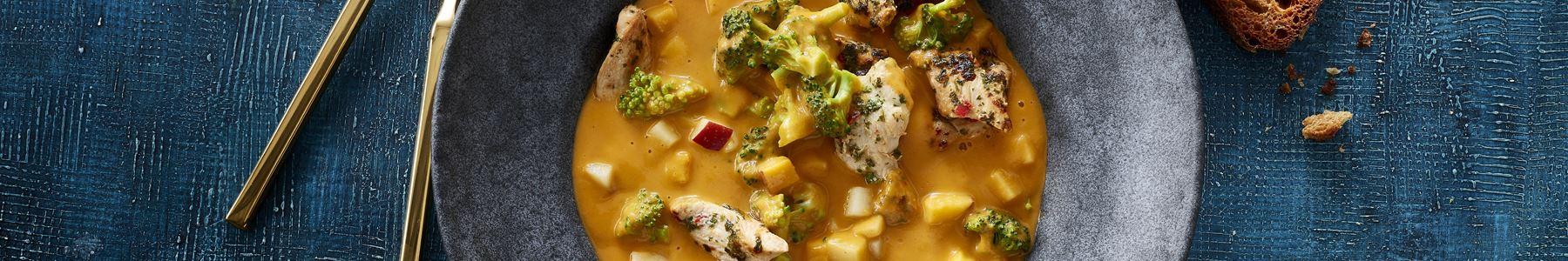 Fedtfattig + Broccoli + Varme supper + Forår
