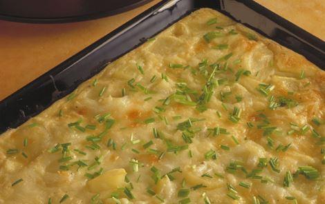 Æggekage bagt i ovn