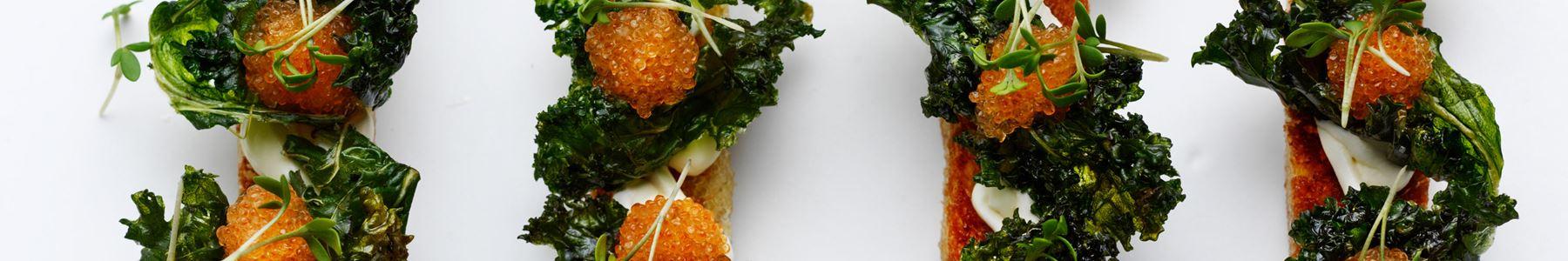 Grønkål + Snacks og tapas