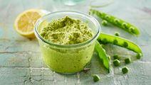 Grøn ærtehummus