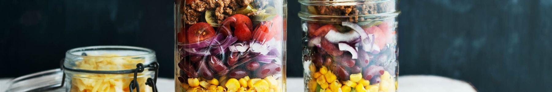 Hurtig + Kidneybønner + Salater