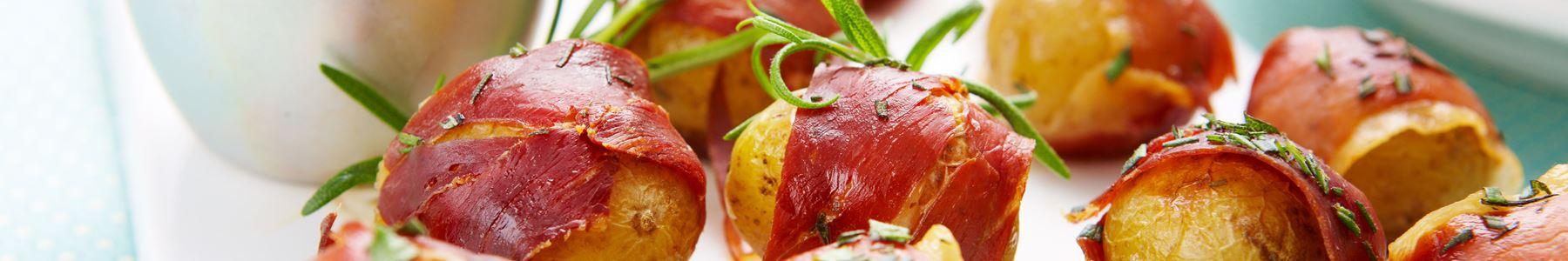 Kartofler + Snacks og tapas