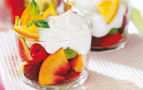 dessert frugt
