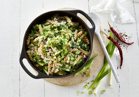 One pot med skinke og broccoli