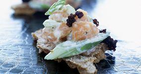 Laksetatar med kaviar