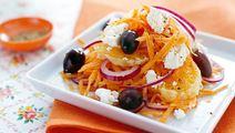 Appelsin- og gulerodssalat