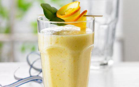 Appelsin-abrikossmoothie