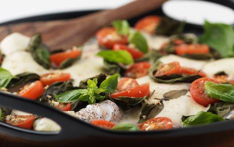 Torskefilet + Mozzarella