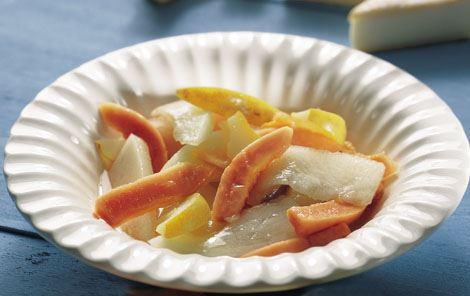 Frugtsalat med papaja
