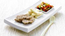 Grøntsager i saltsød ingefærmarinade