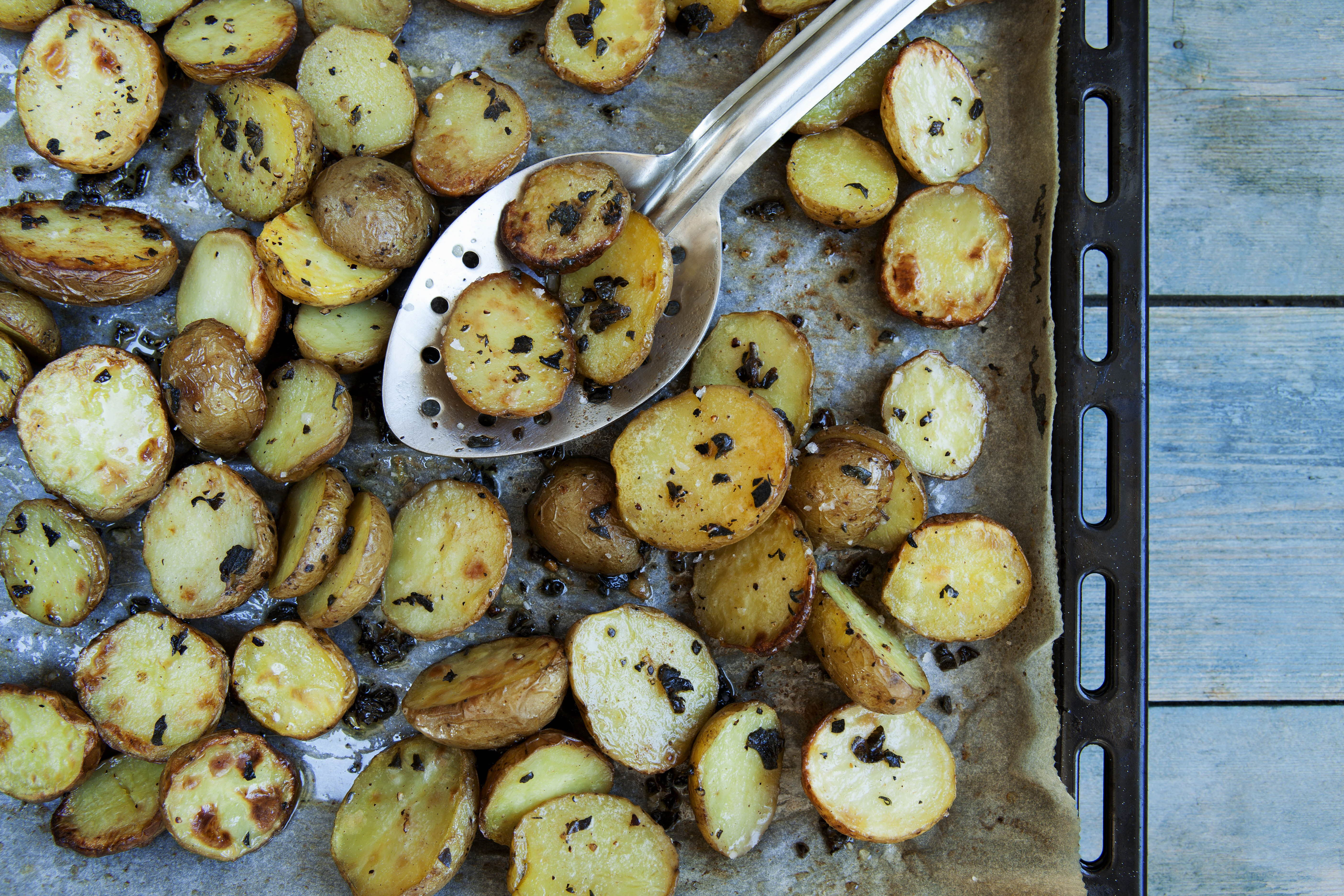 Små bagte kartofler