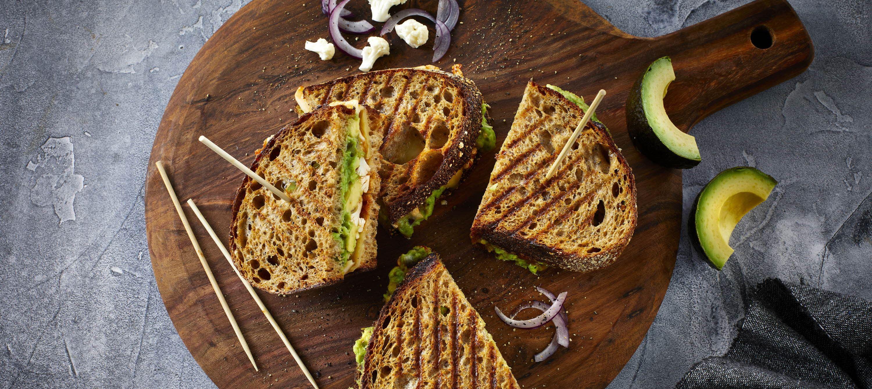 Vegetar toast