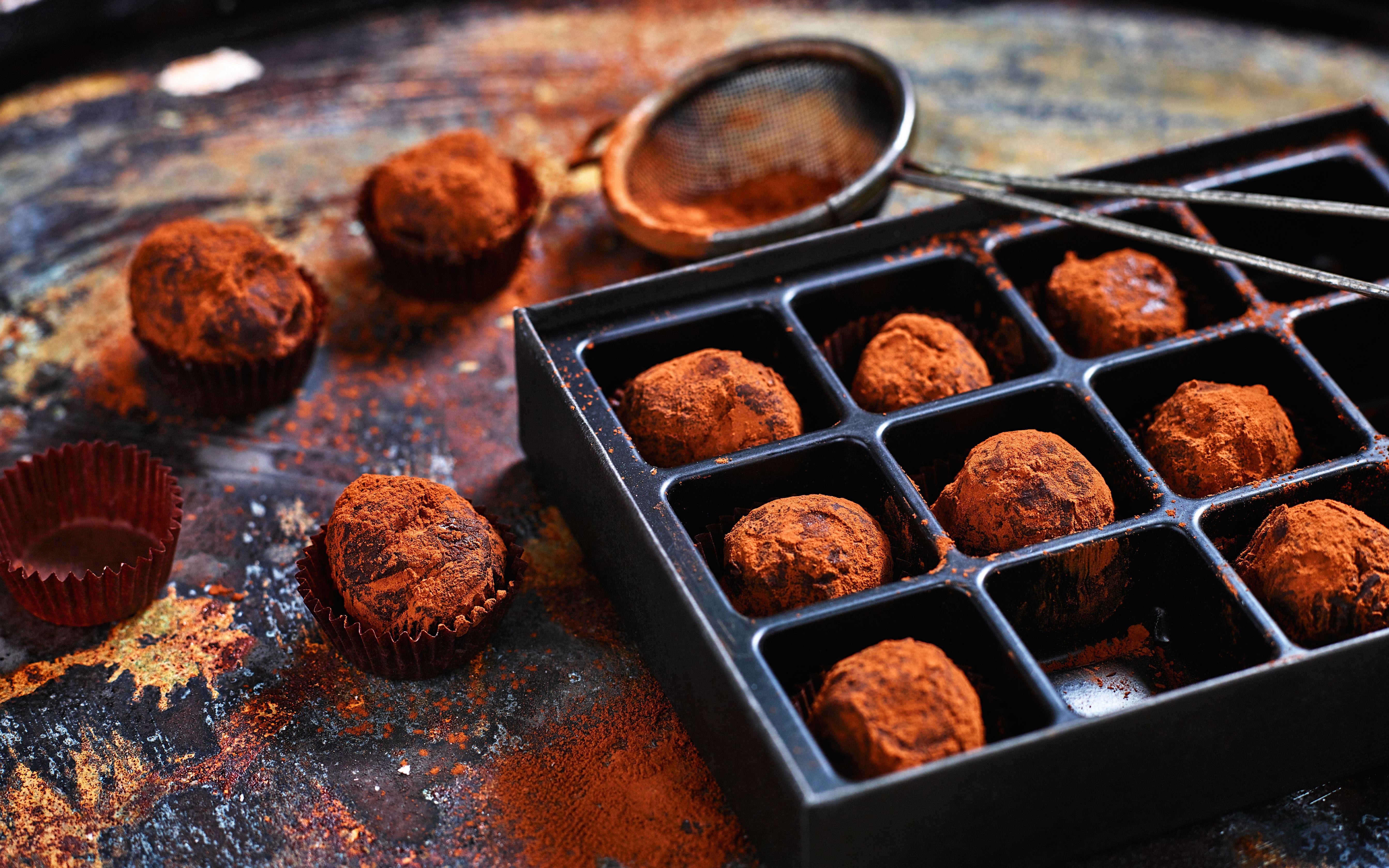 Chokoladetrøfler